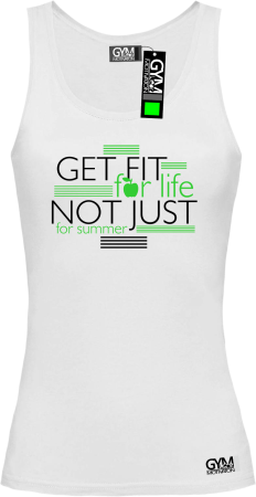 Get fit for life not just for summer - top damski
