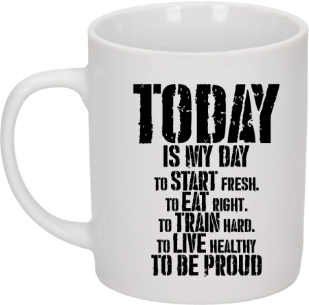 Today is my day To be Pround - kubek ceramiczny