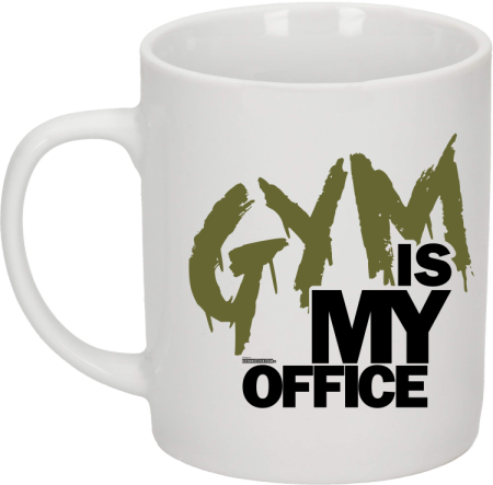 Gym is my Office - kubek ceramiczny
