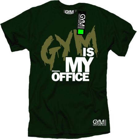 Gym is my Office - koszulka męska
