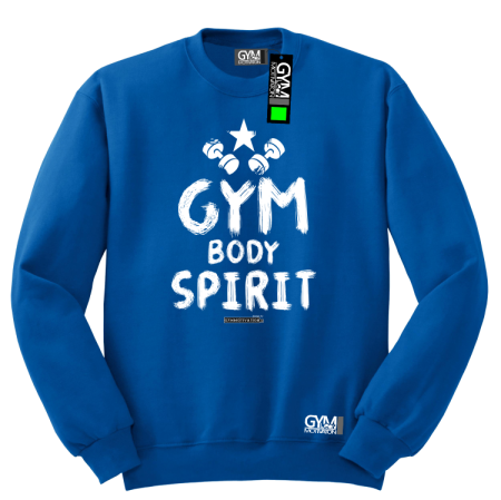 Gym Body Spirit - bluza  męska standard