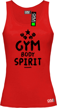 Gym Body Spirit - koszulka TOP damski