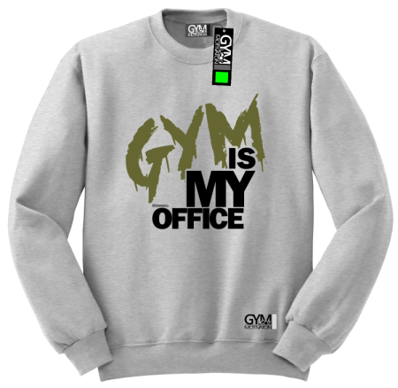 Gym is my Office - bluza męska standard
